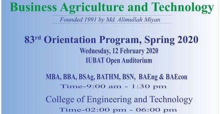 83rd-Orientation-program,-Spring-2020