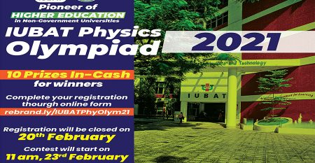 IUBAT-PHYSICS-OLYMPIAD-2021